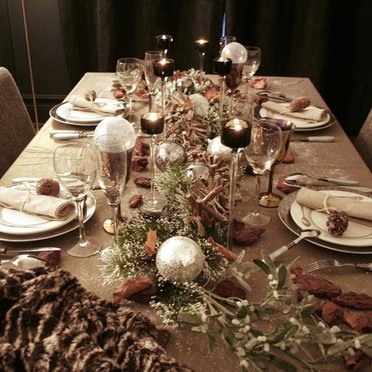 Id es d co pour votre table de no l trop belle le blog - Deco table de noel a faire ...